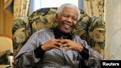 Cựu Tổng thống Nam Phi Nelson Mandela.