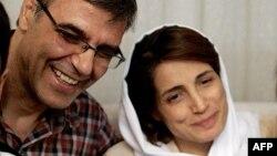 تصویر آرشیوی از نسرین ستوده و همسرش، رضا خندان