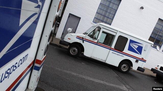 Xe của nhân viên bưu điện ở New York