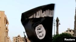 Zastava ISIL-a (Ilustrativna fotografija)