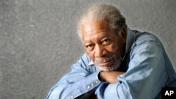 Actor Morgan Freeman said he was aboard his plane when it had to make an unexpected landing in Tunica, Mississippi, Dec. 5, 2015, but nobody was injured.