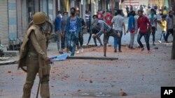 Kashmirning Hindiston nazoratidagi qismida uch kundan beri namoyishlar tinmayapti.