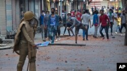 در جریان تظاهرات در کشمیر تحت ادارۀ هند، حد اقل ٢٠ نفر کشته شده است