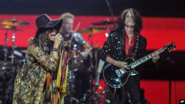 Aerosmith performing in September