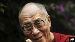 미국을 방문중인 달라이 라마