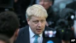 El aldalde de Londres, Boris Johnson, dijo que hará campaña para que Gran Bretaña salga de la Unión Europea.