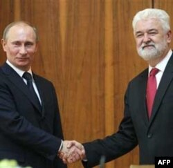 Ruski i srpski premijer tokom susreta u Beogradu