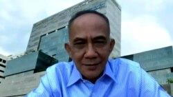 Oke Nurwan, Direktur Jenderal Perdagangan Dalam Negeri, Kementerian Perdagangan, dalam tangkapan layar. (Foto: VOA/Nurhadi)