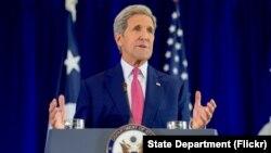 Menlu AS John Kerry mengkhawatirkan keterlibatan militer Rusia dalam konflik di Suriah (foto: dok).
