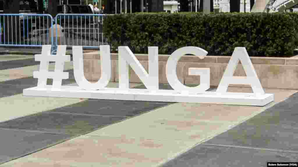 """የ ተ.መ.ድ. ሰባኛው ጠቅላላ ጉባኤን ለብዙሃን ድረገጽ በ""""#UNGA"""" በመፈለግተሳታፊዎች መልእክት ማሰራጫ"""