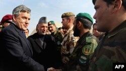 نخست وزیر بریتانیا از افغانستان بازدید می کند