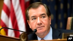 FILE - House Foreign Affairs Committee Chairman Rep. Ed Royce.