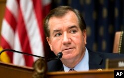FILE - House Foreign Affairs Committee Chairman Rep. Ed Royce, R-Calif.