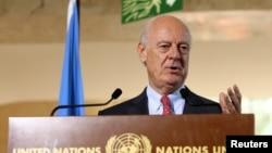 استفان دی میستورا نماینده ویژه دبیرکل سازمان ملل متحد در امور سوریه