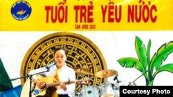 Ca sĩ teen Vivian Huỳnh trình diễn dòng nhạcTuổi Trẻ Yêu Nước