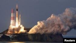 17일 일본 남부 다네가시마 우주센터에서 H-IIA로켓에 탑재돼 발사됐다.