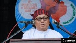 ကခ်င္ႏွစ္ျခင္း ခရစ္ယာန္အဖြဲ႔ခ်ဳပ္ KBC ဥကၠ႒ ေဒါက္တာ ခါလမ္ဆမ္ဆြန္ (သတင္းဓာတ္ပံု -KBC Kachin )