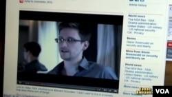 前美國國家安全局(NSA)合同工斯諾登