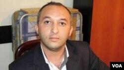 """""""Bizim Yol"""" qəzetinin əməkdaşı Vüsal Yusubov"""