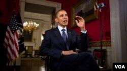 Obama dijo que EE.UU. debe demostrarle al mundo que sigue siendo la nación más democrática al poner las preferencias partidistas a un lado para priorizar las necesidades de la nación.