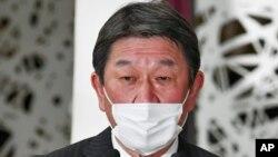 ဂ်ပန္ ႏိုင္ငံျခားေရးဝန္ႀကီး Toshimitsu Motegi
