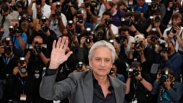"Cast member Michael Douglas during photocall for ""Behind the Candelabra"" at the 66th Cannes Film Festival, France, May 21, 2013."