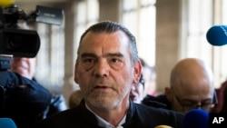 Frank Berton, avocat de Salah Abdeslam