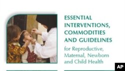 Three year study provides global consensus on best ways to prevent maternal and child deaths