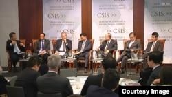2일 미국 워싱턴의 전략국제문제연구소(CSIS)에서 '동북아시아 평화 구축 노력'이란 주제로 토론회가 열렸다.