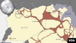 伊斯蘭國在敘利亞和伊拉克控制區