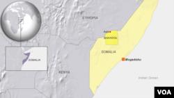 소말리아 지도 (자료사진)