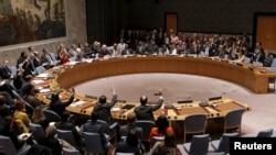 联合国安理会就朝鲜人权问题进行表决(路透社)