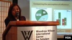 威尔逊学人中心拉丁美洲与中国关系研讨会(美国之音钟辰芳拍摄)