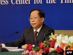 中国农业部副部长危朝安