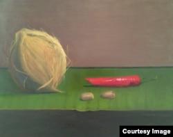 Hasil karya pelukis Dian Paramita di Amerika (Dok: Dian Paramita)
