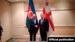 Elmar Məmmədyarov və Georgi Kvirikaşvili
