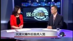 媒体观察:天津大爆炸后首虎入笼