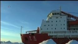 2014-01-05 美國之音視頻新聞: 美國破冰船駛往南極營救被困中俄船隻