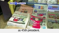 VOA60 Africa - Mixed reactions in Africa as U.S. elects Republican Donald Trump as 45th president