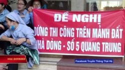 Dòng Thánh Phaolô phản đối công trình ở Quang Trung, Hà Nội