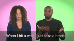 English in a Minute: Hit a Wall