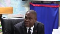 Vizit Dankourajman Premye Minis Jean Henry Céant nan Direksyon Polis la