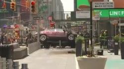 Автомобиль врезался в группу пешеходов в Нью-Йорке