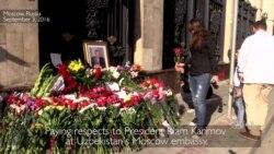 Uzbeks in Moscow React to President Karimov's Death