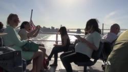 Commuters Escape Crowds on San Francisco Ferries