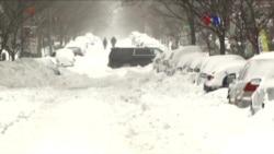 Tormenta de nieve fue peor de los esperado