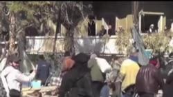 2014-02-09 美國之音視頻新聞: 敘利亞霍姆斯戰火妨礙聯合國救援