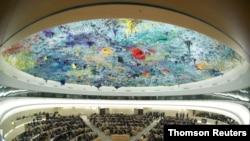 聯合國人權理事會在日內瓦舉行會議。