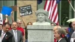 У США День Колумба став предметом суперечок і протестів. Відео