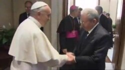 Pope Cuba Visit